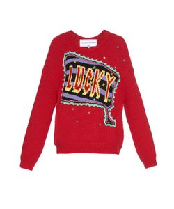 Michaela Buerger | Lady Lucky Embellished Sweater