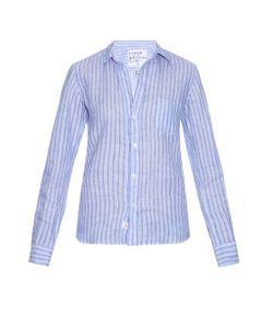 Frank & Eileen | Barry Striped Linen Shirt