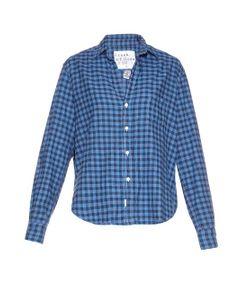Frank & Eileen | Eileen Checked-Cotton Shirt