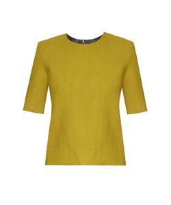 Thomas Tait | Long-Sleeved Crepe Top