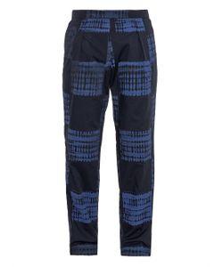 Agi & Sam | Shibori Screen-Print Wide-Leg Trousers