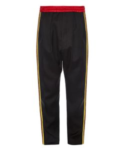 Cerruti 1881 Paris | Contrast-Panel Japanese Wool Track Pants
