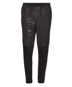 Longjourney | Coated-Panel Slim-Leg Track Pants