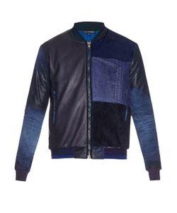 Longjourney | Patchwork Bomber Jacket
