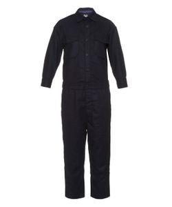 Nlst   Point-Collar Wool-Blend Jumpsuit