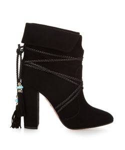 Aquazzura | X Poppy Delevingne Moonshine Ankle Boots