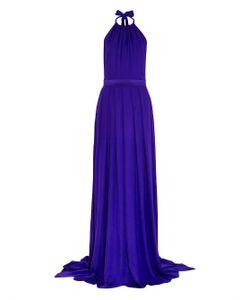 Juan Carlos Obando   Silk Halterneck Gown
