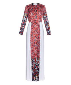 Caterina Gatta | Fan Floral-Print Long-Sleeved Gown