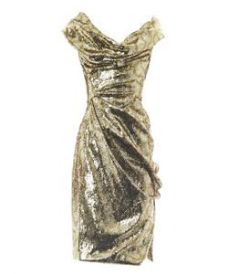Vivienne Westwood Gold Label | Sequin Squiggle-Print Fitted Dress