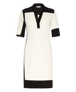 Balenciaga | Graphic Line Bi-Colour Dress