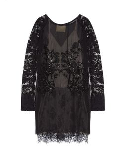 Loyd/Ford | Embellished Lace Dress