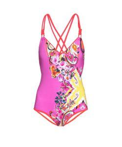 Etro | Paisley-Print Double-Strap Swimsuit