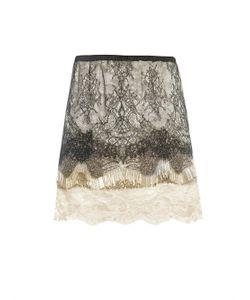 Loyd/Ford | Embellished Lace Mini Skirt
