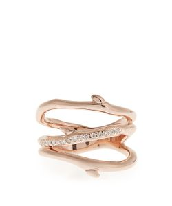 Shaun Leane   Diamond Plated Ring