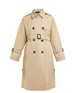 02c170f4a9c87 WEEKEND MAX MARA - Zannia Cotton Blend Trench Coat