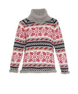 Michaela Buerger | Lady Arma Intarsia Wool-Knit Sweater