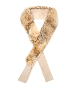 32 Paradis Sprung Frères | Balthazar Fox And Shearling Scarf