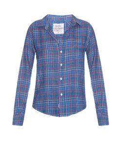 Frank & Eileen | Barry Checked Linen Shirt