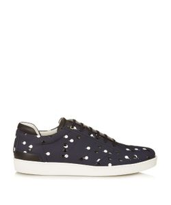 Want Les Essentiels De La Vie | Lennon Low-Top Double Dot Leather Trainers