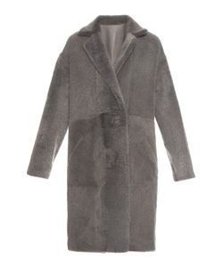32 Paradis Sprung Frères | Reversible Zipped-Sides Shearling Coat