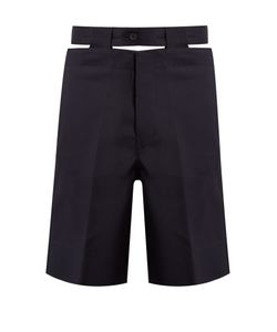 Marni | Cut-Out Belt Twill Shorts