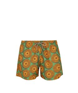 ÒKUN   Ile-Print Swim Shorts