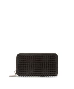 CHRISTIAN LOUBOUTIN | Panettone Spike-Embellished Wallet