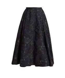 Rochas | -Cloqué A-Line Skirt