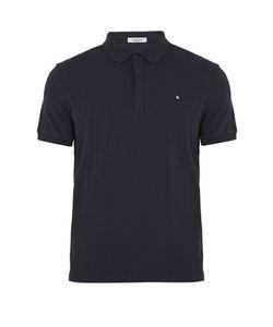 Valentino | Rockstud Untitled Cotton-Piqué Polo Shirt