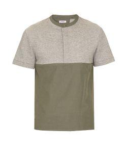 Tim Coppens   Bi-Colour Cotton-Blend T-Shirt