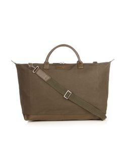 Want Les Essentiels De La Vie | Hartsfield Leather-Trimmed Canvas Weekend Bag
