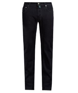 JACOB COHЁN | Tailored Stretch-Denim Jeans