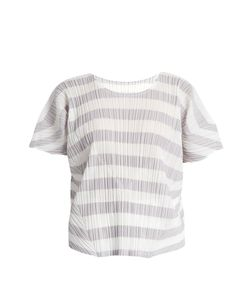 Pleats Please By Issey Miyake | Pierrot Short-Sleeved Pleated Top