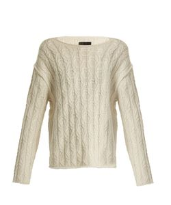 Nili Lotan | Bailey Cable-Knit Cashmere Sweater