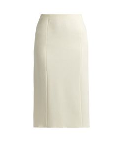 The Row | Herin Wool-Blend Midi Skirt