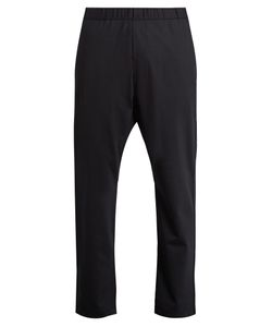 BARENA VENEZIA | Drawstring-Waist Cropped Stretch-Wool Trousers