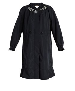 Muveil | -Embellished Nylon Coat