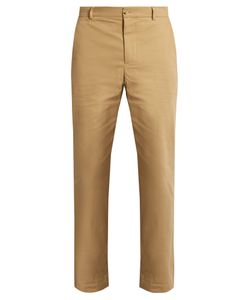 DE BONNE FACTURE | Wide-Leg Cotton Trousers