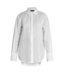 Calvin Klein Collection   Luka Point-Collar Cotton Shirt