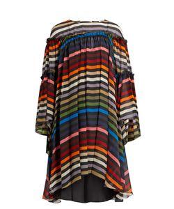 Sonia Rykiel | Striped Silk-Chiffon Dress
