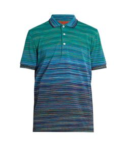 Missoni | Striped Cotton Polo Shirt