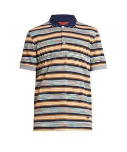 Missoni | Striped Cotton Polo Shirt