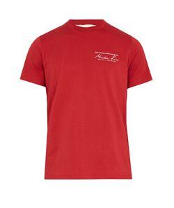 Martine Rose | Logo-Print Cotton-Jersey T-Shirt