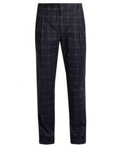 Etro | Printed Stretch-Cotton Trousers