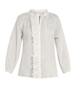 Vanessa Bruno | Guylaine Broderie-Anglaise Cotton Top