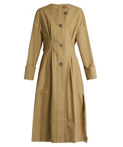 Isabel Marant | Slater Cotton And Linen-Blend Trench Coat