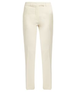 Etro | Violante Slim-Leg Stretch-Cady Trousers