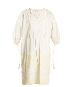 The Great | The Panel Tunic Tassel-Trimmed Dress