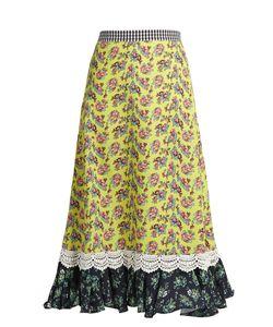 House Of Holland | -Print Cady Midi Skirt