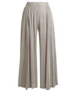 Pleats Please By Issey Miyake | Pleated Wide-Leg Trousers